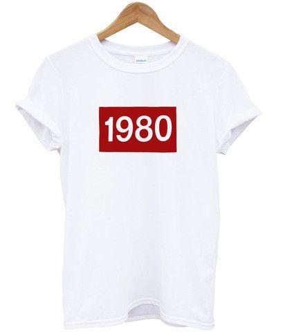 1980 Women's Casual T-Shirt KH01