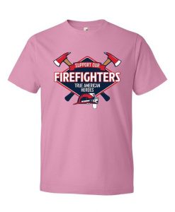 American Heroes Scoop Neck T-Shirt KH01