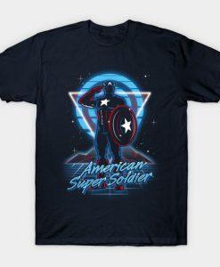 American Super Soldier T-Shirt ZK01