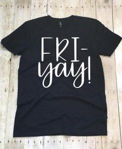 Friyay Black T-shirt ZK01