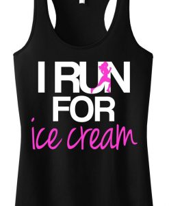 I RUN for Ice Cream TankTop ZK01
