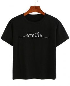 Letter Embroidery T-shirt