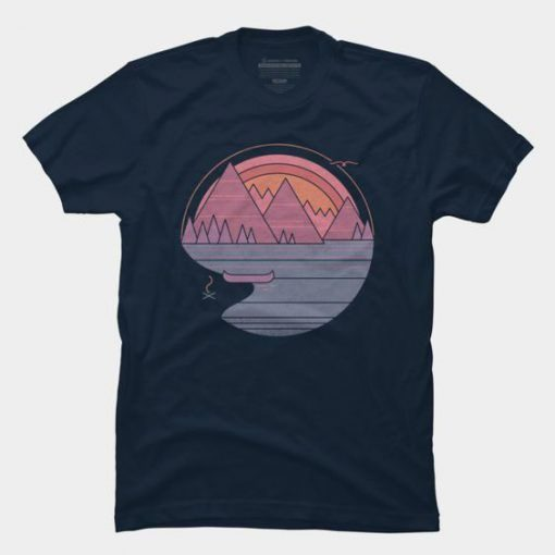 The Mountains Are Calling T-Shirt KH01