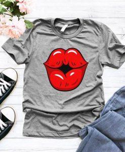 Womens Kiss T-Shirt ZK01