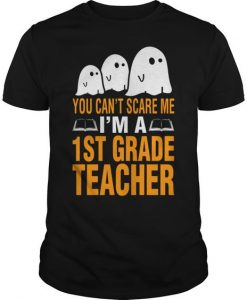 You Cant Scare Me T-shirt ZK01