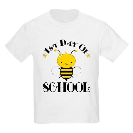 1st Day Of School Honey Bee T-Shirt SR01