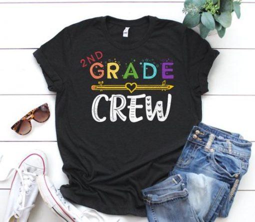 2nd Grade Crew T-Shirt SR01
