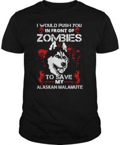 Alaskan Malamute Lover T-Shirt ZK01