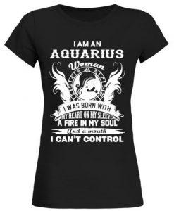 Aquarius Legend Zodiac T-Shirt EL01
