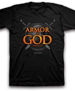 Armor of God Christian T-Shirt DS01