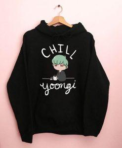 BTS Chill Yoongi Hoodie AV01
