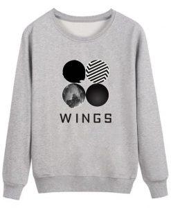 BTS Wings Classic Sweatshirt FD01