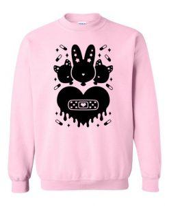 Bunny Kitty Sweatshirt SR01