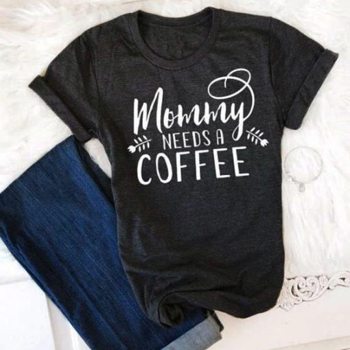 Mommy Black Tee Shirt ZK01