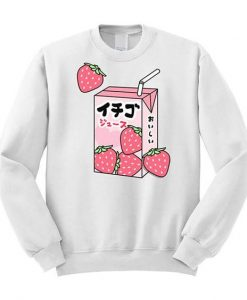 Strawberry Milk Sweatshirt SR01