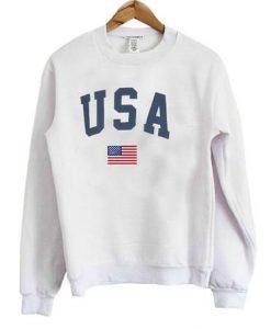USA Flag Sweatshirt FD01
