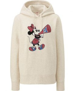 WOMEN DISNEY SWEAT PULLOVER HOODIE AV01
