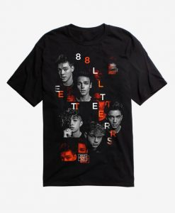 Why Don't We 8 Letters T-Shirt ZK01