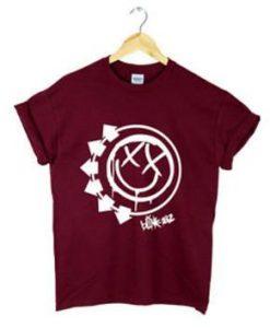 Womens Blink 182 T-shirt FD01