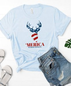 Women's 'Merica T-Shirt SR01