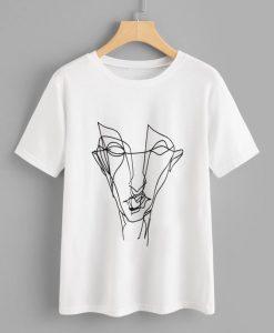 Abstract Graffiti T-shirt FD01