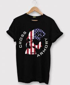 American Skull T-Shirt AV01
