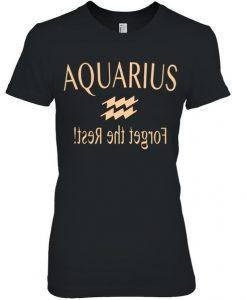 Aquarius Zodiac T Shirt SR01