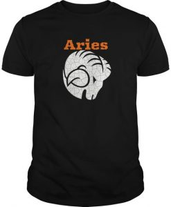 Aries Ram Zodiac T Shirt SR01