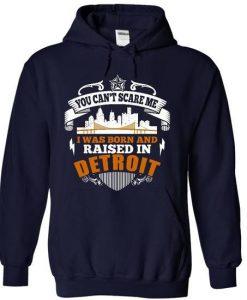 Born in Detroit Hoodie KH01