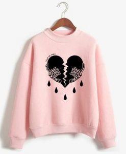 Broken Heart Sweatshirt SR01