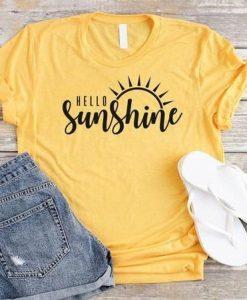 Hello Sunshine T-Shirt AV01