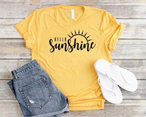 Hello Sunshine T-Shirt AV01