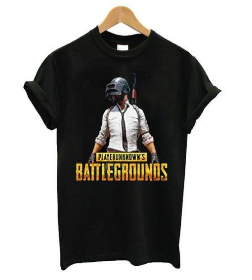 PubG Player Black T-shirt AV01