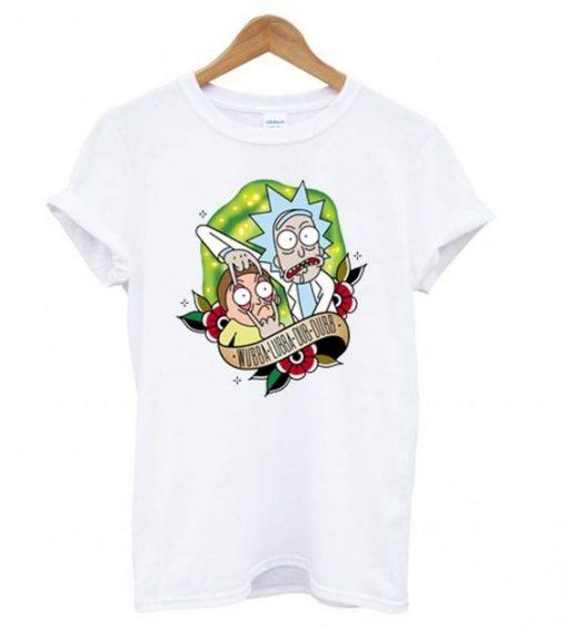 Rick and Morty Wubba T-Shirt AV01