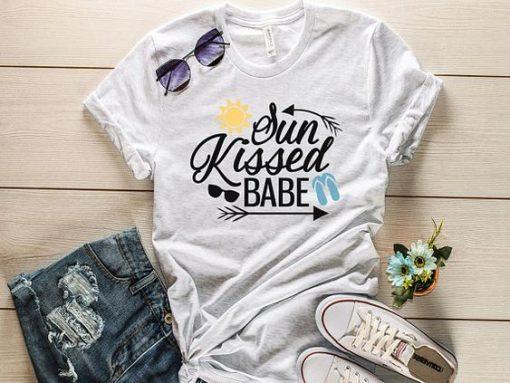 Sun kissed babe T-shirt AV01