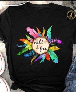 Wild & Free T-shirt ZK01