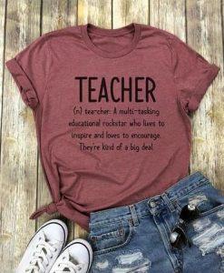 Women T-Shirt Teacher EC01
