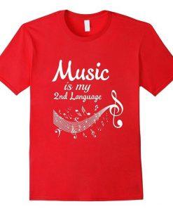 Womens Music T-Shirt FR01