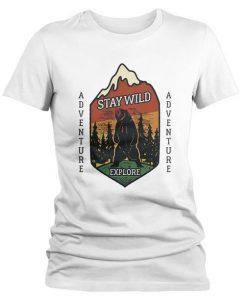 Women's Stay Wild T-Shirt FD01