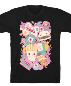 90s Toys Candy and Makeup T-Shirt VL