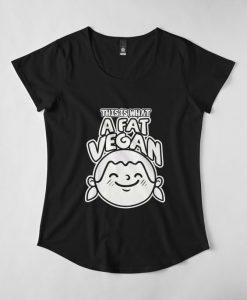 A Fat Vegan T-Shirt EL01