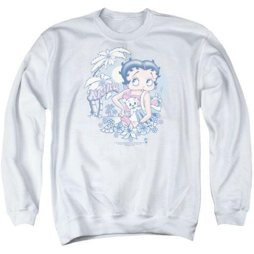 Aloha Boop Sweatshirt SR01