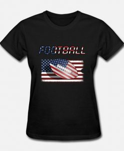 American Football Atars And Stripes T-Shirt EL01
