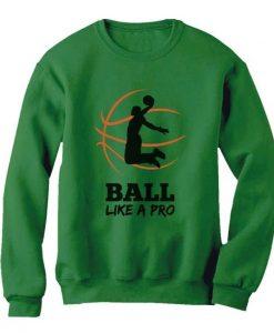 Basketball Player Sweatshirt EM01