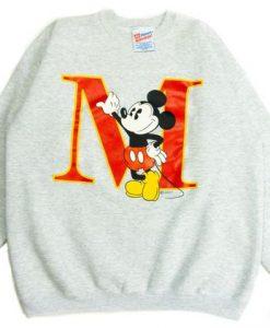 Big M Mickey Disney Sweatshirt FD