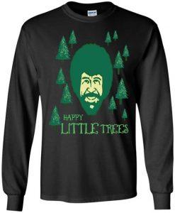 Bob Ross Happy Little Trees Sweatshirt EL29