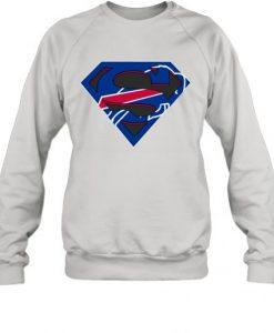 Buffalo Bills Superman Sweatshirt EL26