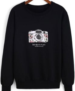 Camera Sweatshirt EM