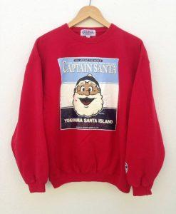 Captain Santa Sweatshirt VL01