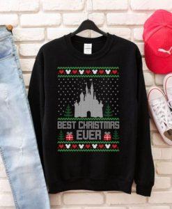 Castle Disney Christmas Sweatshirt FD
